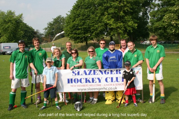 Motley Crew attending the National Family Sports Day in Thornes Park, Wakefield 2010