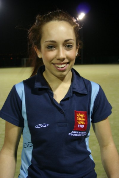 Ailish Hendry called up for British Colleges Hockey