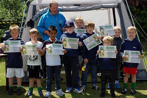 Slazenger Junior Presentation & Parents Vs Kid Tournament