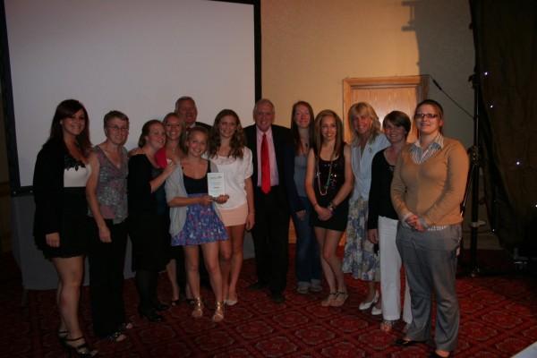 Slazenger Ladies 1xt Team Winning the Wakefield Express Ladies Sports Team of the Year 2011
