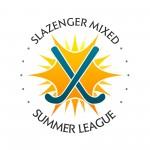 SLAZENGER MIXED SUMMER LEAGUE LOGO